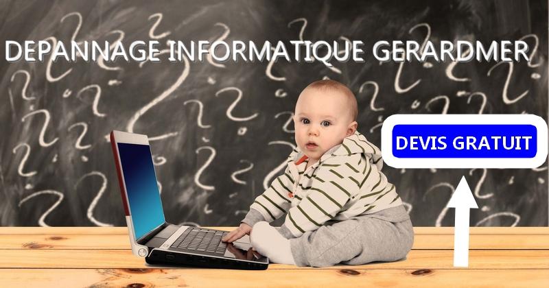Service de dépannage informatique à Gérardmer