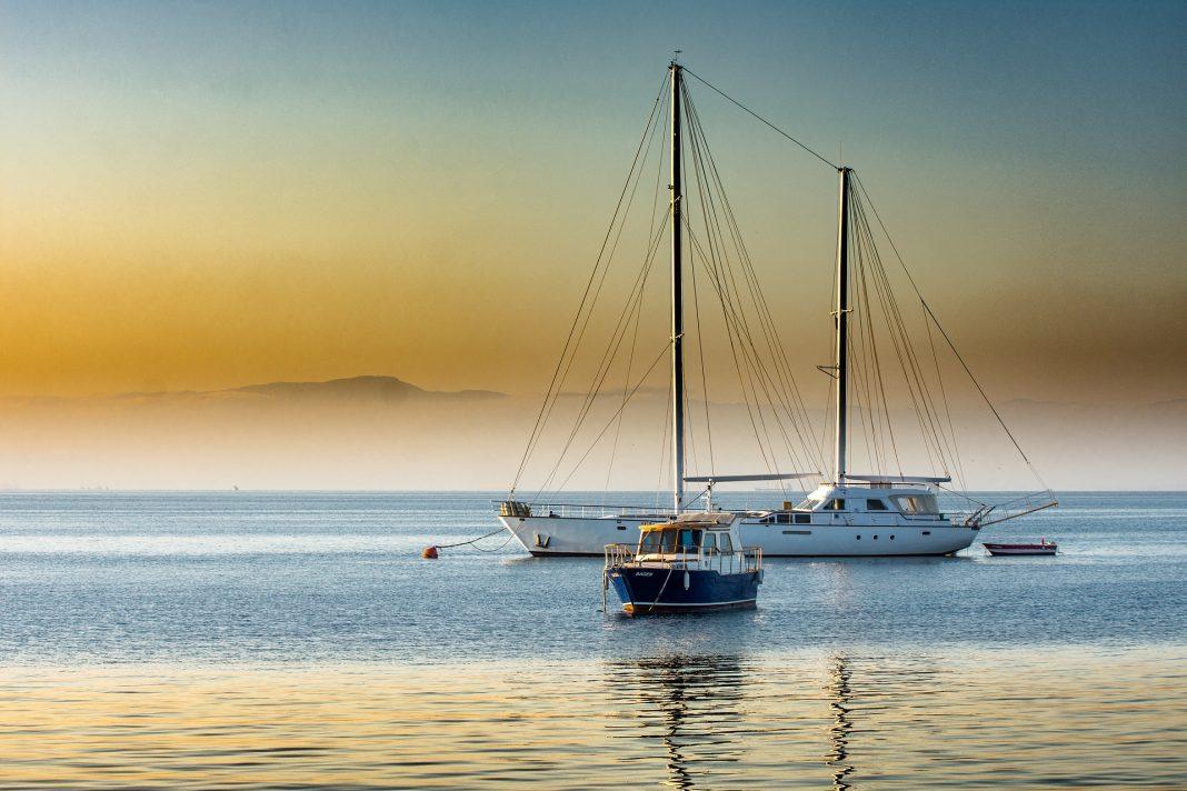pompes à eau bateau